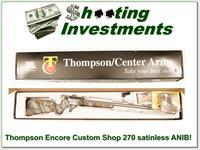 Thompson Center Encore Custom Shop Stainless Heavy Barrel 270 Winchester!