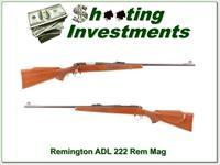 Remington 700 early pressed checking 222 Rem