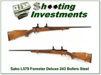 Sako L579 Forester Deluxe 243 Bofers Steel!