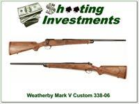 Weatherby Mark V Custom 338-06 Beautiful Stock!