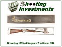 Browning 1885 Traditional Hunter Low Wall 44 Rem Mag NIB!