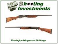 Remington 870 Wingmaster 20 Gauge XX Wood!