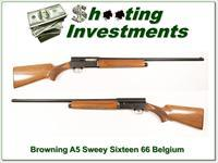 Browning A5 Sweet Sixteen 66 Belgium 28in Mod