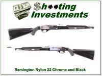 Remington Nylon 66 Apache Black & Chrome 22
