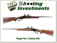 Ruger No. 1 243 Red Pad 200 Year LIBERTY!