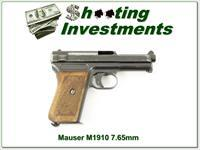 Mauser 1920 7.65mm 380 WW II