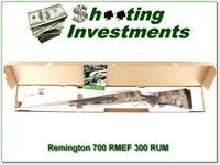 Remington 700 SS Rockly Mountain Elk 300 RUM