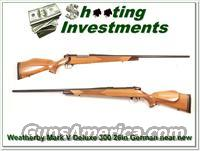 Weatherby Mark V Deluxe German 26in Exc Cond
