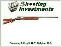 Browning A5 Light 12 51 Belgium 30in Solid Rib