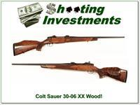 Colt Sauer Deluxe 30-06 West German made XX Wood