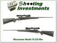 Winchester 70 Classic SM 270 Exc Cond Scope!