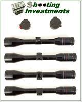 Weatherby Supreme 4 X 44 Scope with covers