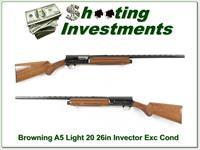 Browning A5 Light 20 26in VR near new!