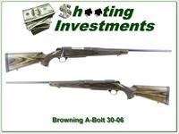 Browning A-Bolt 30-06 hard to find Laminated stock