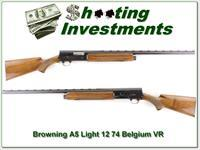 Browning A5 Light 12 74 Belgium Exc Cond