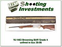 Browning BAR Grade 4 30-06 unfired full Belgium