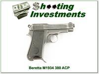 Beretta Model 1934 7.65mm 32 ACP WW II