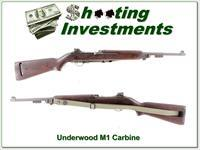 Underwood Elliot-Fisher M1 Carbine made in 1944
