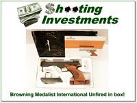 Browning Medalist International new, unfired in box!