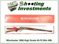 Winchester 1886 High Grade 26in NIB!