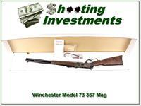 Winchester Model 1873 Short Rifle 357 Mag Case Hardened NIB