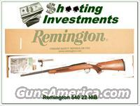 Remington 504 Bolt action 22 NIB!