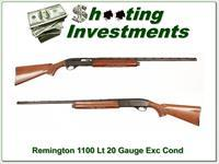 Remington 1100 Light 20 Gauge Exc Cond!