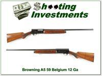 Browning A5 12 Gauge 59 Belgium 28in modified