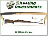 CZ 550 UHR Ultimate Hunting Rifle 300 Win NIB!