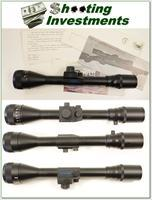 Shepherd 3-9 X 40 Range Finder scope with factory letter!