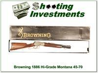 Browning 1886 45-70 High Grade new Unfired 16 1/2in!