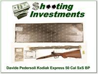 Davide Pedersoli Kodiak Express Double Barrel 50 Caliber