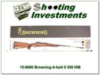 Browning A-bolt II Medallion 308 Win last of the new ones!