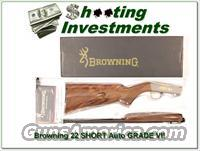 Browning High Grade VI 22 Auto RARE SHORT!