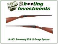 Browning BSS Sporter 20 Gauge Exc Cond