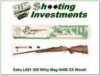 Sako Finnbear L691 300 Wthy Mag XX Wood unfired in box