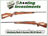 Weatherby Mark V Deluxe German 300 XX Wood near new!
