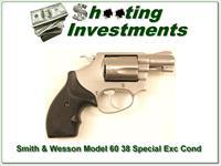 Smith & Wesson Model 60 (no Dash) 38 Special 2in Stainless