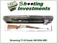 Browning Model 71 Rifle High Grade 348 Win new in box