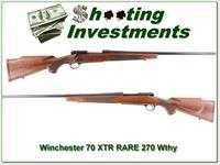 Winchester 70 Sporter XTR 270 Weatherby RARE!