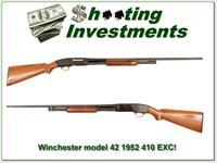 Winchester Model 42 1952 made 410 Exc Cond!