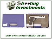 Smith & Wesson Model 622 22 LR Exc Cond in case