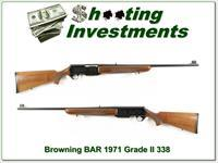 Browning BAR Grade II 71 Belgium 338 Honey Blond!