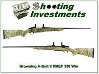 Browning A-Bolt II RMEK 338 Win Mag as new!