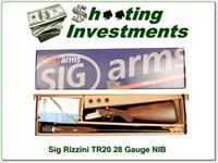 Sig Arms Rizzini TR20 28 Gauge NIB never fired
