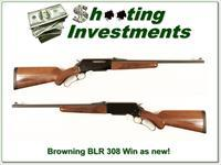 Browning BLR Model 81 308 Win as new!