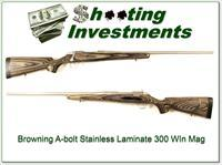 Browning A-bolt Stainless Laminate 300 Win Mag