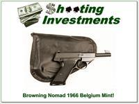 Browning Nomad 66 Belgium Exc Cond in pouch!