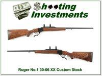Ruger No.1 30-06 26in Custom XX Wood!