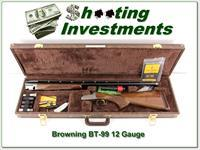 Browning BT-99 Grade III 12 Ga Trap Exc Cond in case